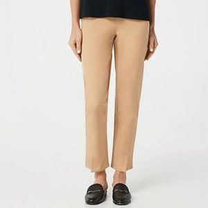 Isaac Mizrahi Special Edition Stretch Ankle Pants